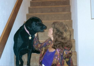 Maggie Dawn Stairs older 12-10-09